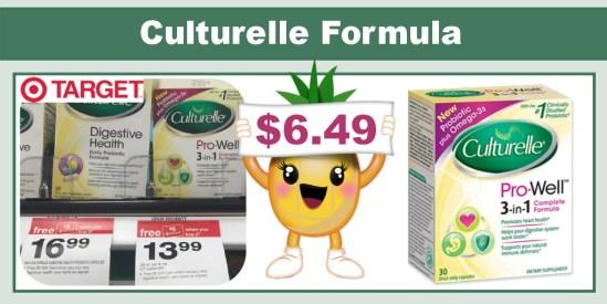 Culturelle Formula Coupon Deal