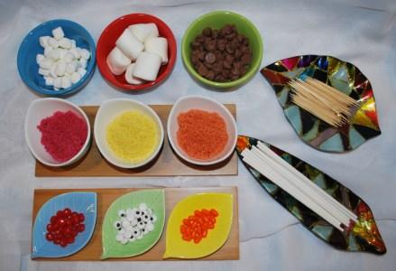 Chocolate Turkey Marshmallow Pops Ingredients