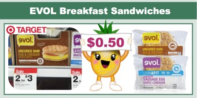 evol breakfast sandwiches coupon deal