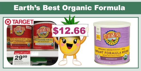 earth's best organic formula coupon deal