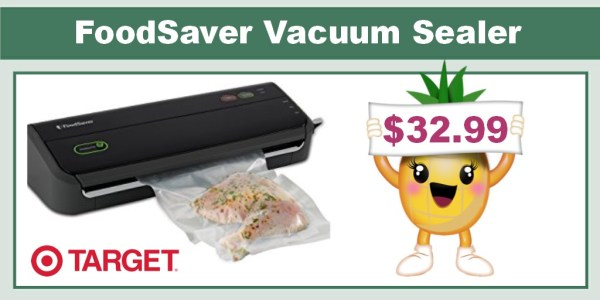 FoodSaver Vacuum Sealing System Coupon Deal