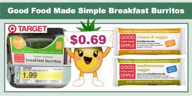 Good Food Made Simple Breakfast Burritos Coupon Deal