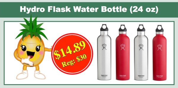 Hydro Flask Narrow-Mouth Vacuum Water Bottle (24 oz)