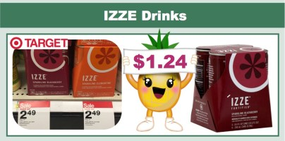 izze drinks coupon deal