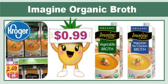 Imagine Organic Broth coupon deal