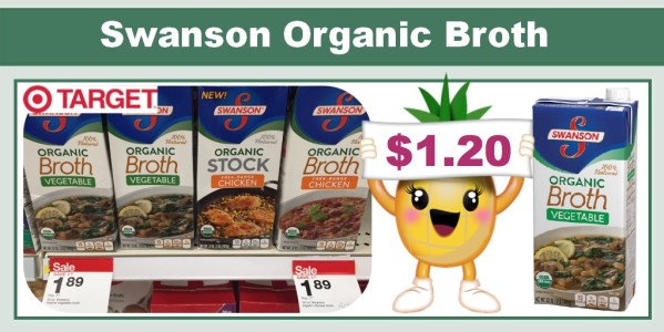 Swanson Organic Broth Coupon Deal