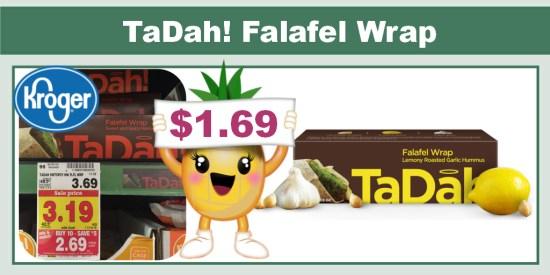 TaDah! Falafel Wrap Coupon Deal