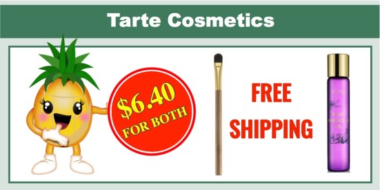 Tarte Cosmetics: Rollerball Fragrance + Eye Shadow Brush