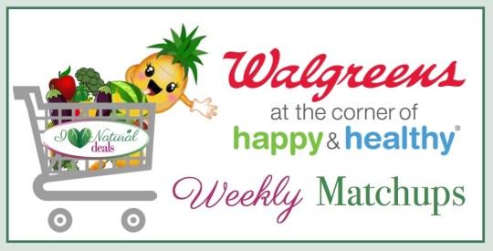 Walgreens Weekly Sales And Coupon Matchups I Heart Natural Deals