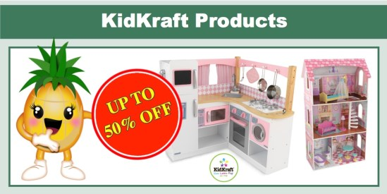 Up to 50% off KidKraft Toys, Games and More!