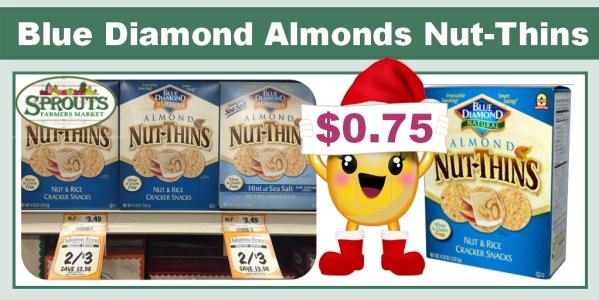 Blue Diamond Almonds Nut-Thins Coupon Deal