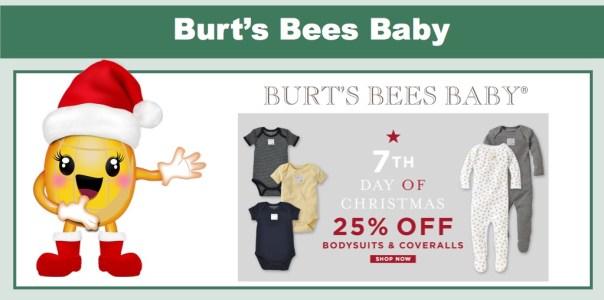 Burt's Bees Baby: 25% Off Bodysuits & Coveralls!