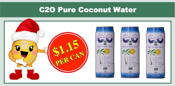 C2O Pure Coconut Water (12 Pack)