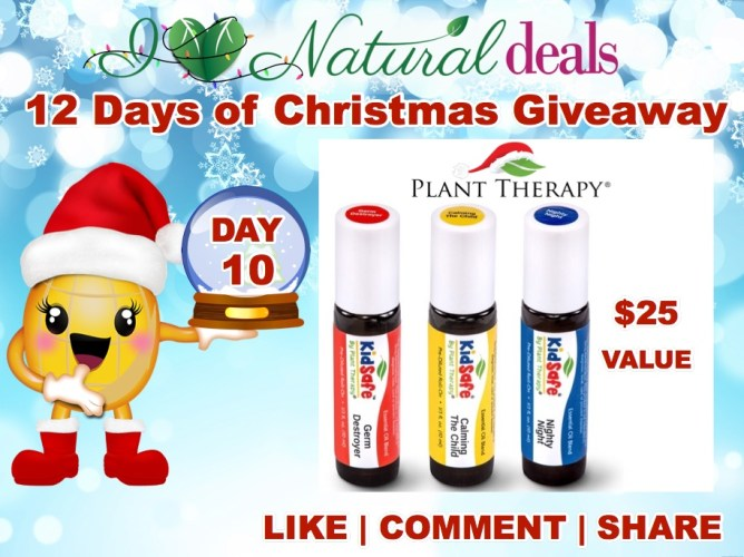 Win Plant Therapy's Top 3 KidSafe KidSafe Pre-diluted Roll-on Synergies