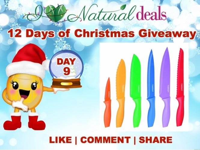 Win a Cuisinart Advantage 12-Piece Knife Set