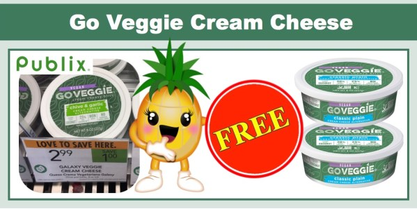 FREE Go Veggie Cream Cheese
