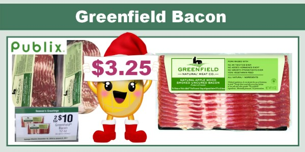 Greenfield Bacon Coupon Deal
