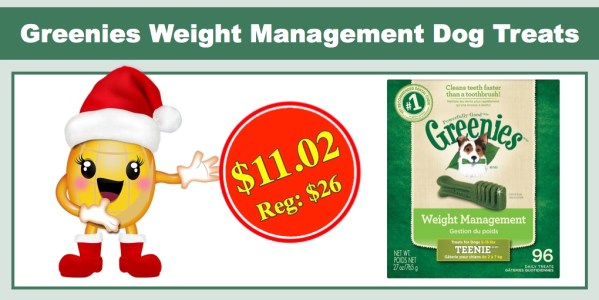 Greenies Weight Management Dog Treats