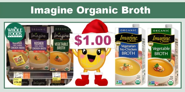 Imagine Organic Broth Coupon Deal