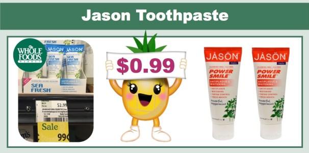 Jason Toothpaste (3oz)