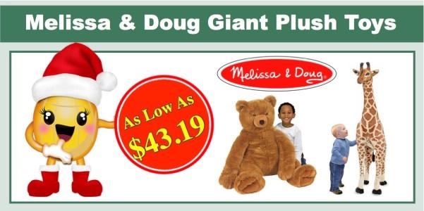 Melissa & Doug Giant Plush Animals