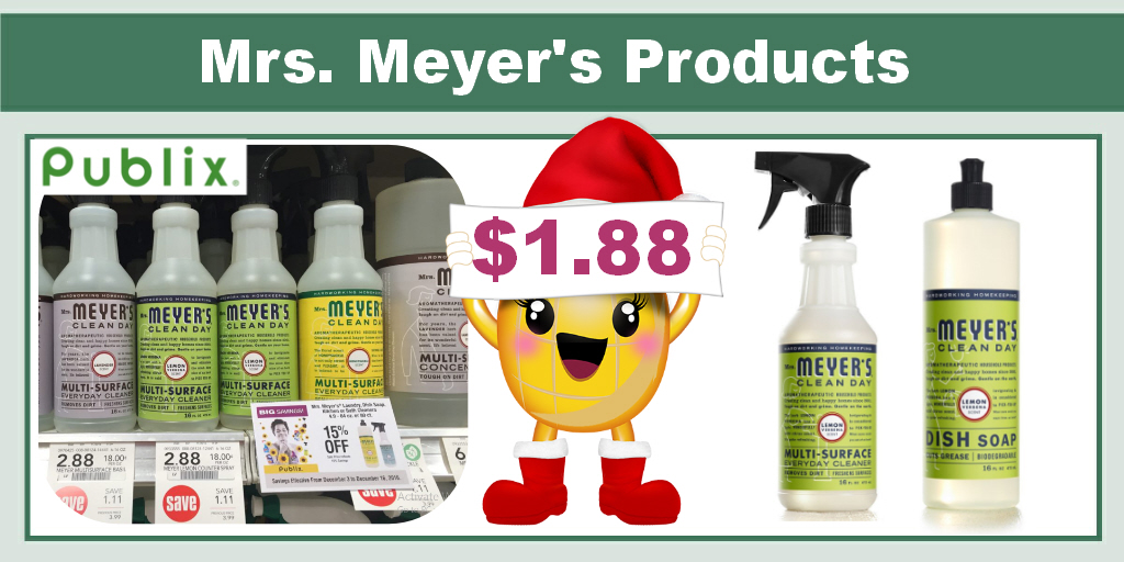 Mrs. Meyer's Products Coupon Deal