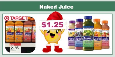 Naked Juice Coupon Deal