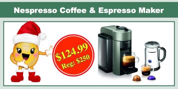 Nespresso VertuoLine Evoluo Coffee & Espresso Maker