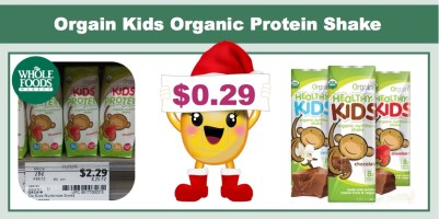 Orgain Kids Protein Organic Nutritional Shake Coupon Deal