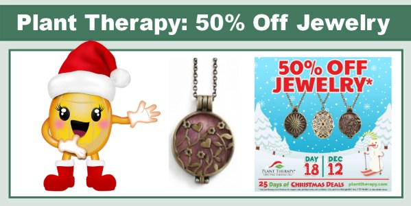 Plant Therapy 50% Off Jewelry