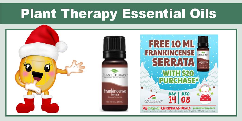 Plant Therapy FREE 10 ml Frankincense Serrata