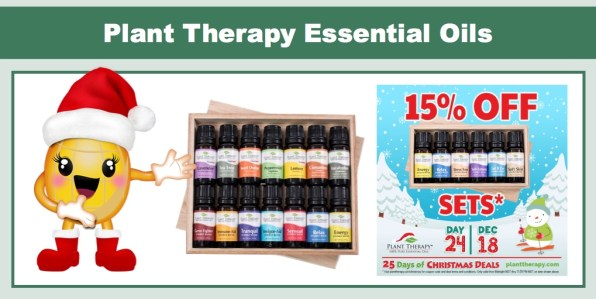 Plant Therapy: Save 15% on Essential Oils Sets!