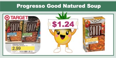 Progresso Good Natured Soup Coupon Deal