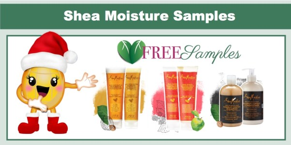 FREE SheaMoisture Sample Packs