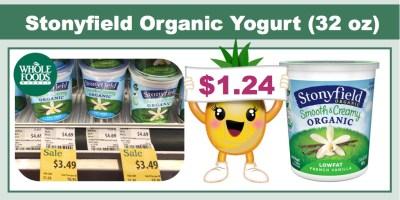 Stonyfield Organic Greek Yogurt Coupon Deal (32 oz)