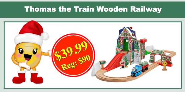 Thomas the Train Wooden Railway Santa's Workshop Express
