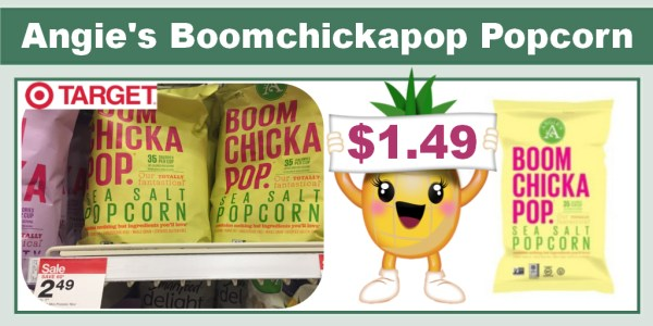 Angie's Boomchickapop Popcorn Coupon Deal