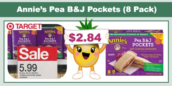 Annie's Pea B&J Pockets Coupon Deal