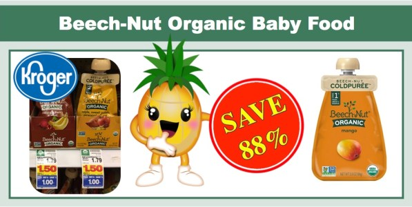 Beech-Nut Organic Cold Puree Pouches Coupon Deal