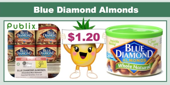 Blue Diamond Almonds Coupon Deal