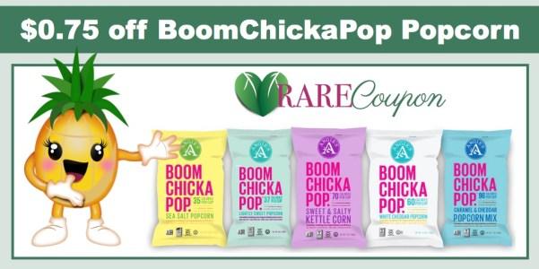 *RARE* $0.75/1 BoomChickaPop Popcorn Coupon!
