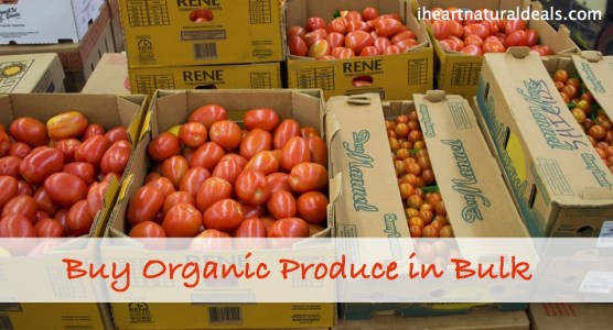 Buy Organic Produce in Bulk