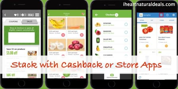 Cashback / Grocery Store App