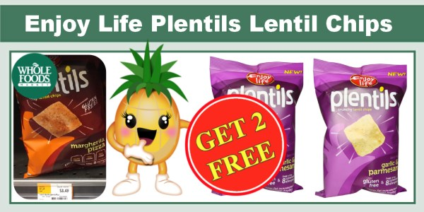 Enjoy Life Plentils Lentil Chips Coupon Deal
