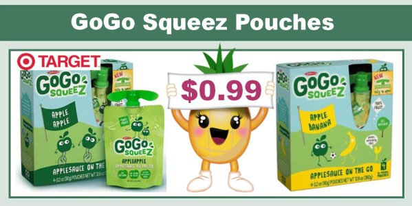 GoGo SqueeZ Pouches 4 Pack Coupon Deal