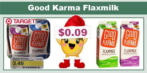 Good Karma Flaxmilk Coupon Deal