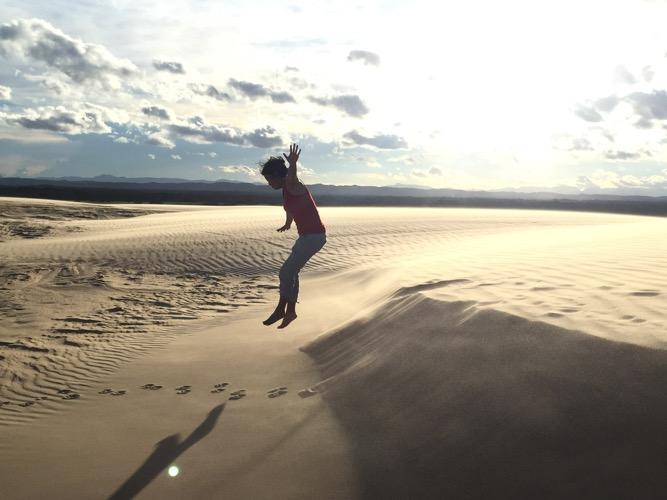 Las Lomas de Arena (Sand Dunes)
