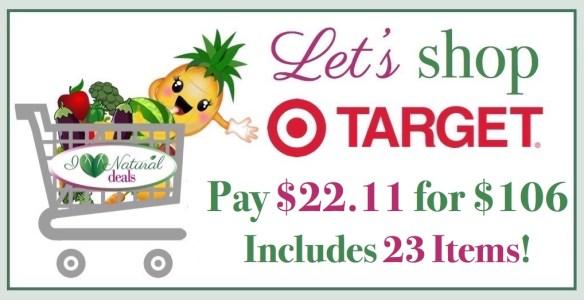 Let's Shop Target 1/6/17