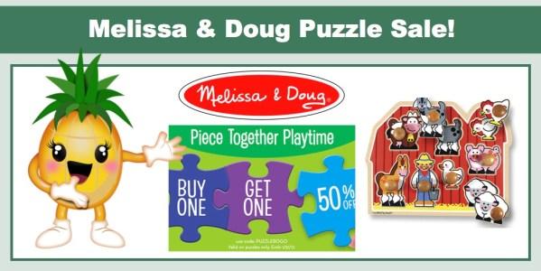 Melissa & Doug Puzzle Sale