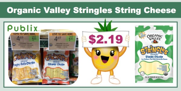 Organic Valley Stringles String Cheese Coupon Deal